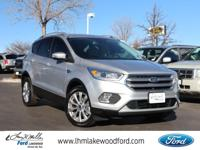 Ingot Silver Metallic 2017 Ford Escape Titanium 4WD