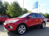 Recent Arrival! 2017 Ford Escape Titanium Red ** CLEAN