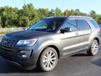 CARFAX One-Owner. Magnetic Metallic 2017 Ford Explorer