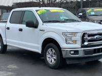 Clean CARFAX. White 2017 Ford F-150 RWD 6-Speed