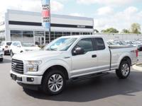 Gray 2017 Ford F-150 XL 4WD 6-Speed Automatic