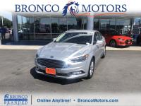 Silver 2017 Ford Fusion SE FWD 6-Speed Automatic