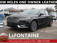 2017 Ford Fusion SE,Shadow Black, FWD, REMAINDER OF
