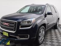 Dark Sapphire Blue Metallic AWD SUV with a 6-Speed