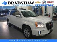 Recent Arrival! Summit White 2017 GMC Terrain SLE-2