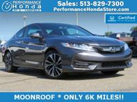HONDA CERTIFIED! *EQUIPPED WITH:* MOONROOF, REAR CAM,