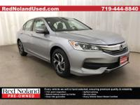 2017 Honda Accord LXCARFAX One-Owner. Clean CARFAX.