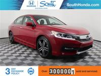 2017 Honda Accord Sport Red Odometer is 1766 miles