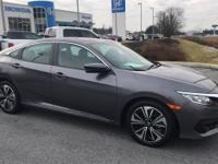 Clean CARFAX. HONDA CERTIFIED, Gray Leather. Modern