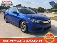2017 Honda Civic EX ***#1 CERTIFIED TOYOTA DEALER IN