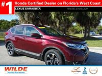 CARFAX 1-Owner, Superb Condition, Honda Certified.