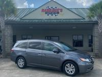 Check out this gently-used 2017 Honda Odyssey we