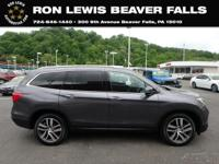 CARFAX One-Owner. Clean CARFAX. 2017 Honda Pilot
