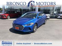 New Price! Electric Blue 2017 Hyundai Elantra SE FWD
