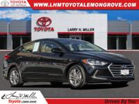 Phantom Black 2017 Hyundai Elantra SE FWD 6-Speed