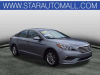 Gray Cloth.2017 Hyundai Sonata SE SE Shale Gray