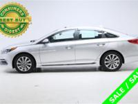 CARFAX: GREAT VALUE! SONATA SPORT w MOONROOF, HYUNDAI