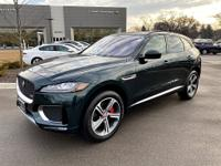 Certified. British Racing Green Metallic 2017 Jaguar