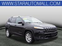 2017 Jeep Cherokee Limited Limited Diamond Black