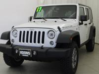2017 Jeep Wrangler Unlimited Rubicon Bright White