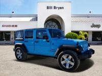 Solid and stately, this 2017 Jeep Wrangler Unlimited is