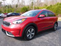 Crimson Red 2017 Kia Niro LX FWD Dual Clutch 6-Speed