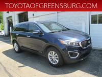 Blaze Blue 2017 Kia Sorento LX AWD 6-Speed Automatic