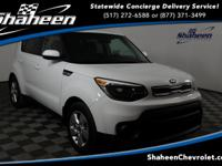 CARFAX One-Owner. Clean CARFAX. Clear White 2017 Kia