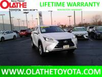 CARFAX One-Owner. Eminent White Pearl 2017 Lexus NX