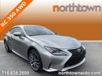 Fast Fun Reliable Lexus RC 350 AWD with F-Sport Pkg One