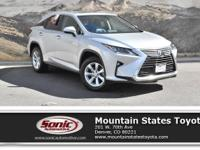 Look at this 2017 Lexus RX RX 350. Its Automatic