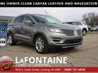 2017 Lincoln MKC Select, Luxe Silver Metallic, AWD,