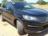 CARFAX One-Owner. Black 2017 Lincoln MKC Premiere FWD