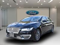 This 2017 Lincoln Mkz Select is a NEW ARRIVAL! Premium