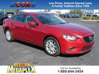 This 2017 Mazda Mazda6 Sport in Soul Red Metallic is