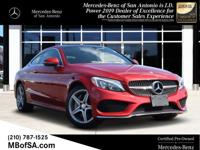 2017 Mercedes-Benz C-Class C 300 4MATICï¾® Cardinal Red