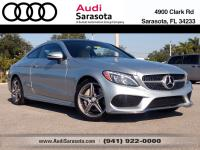 This Very Low Mileage C300 Coupe includes Premium 2,