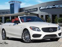 Look at this certified 2017 Mercedes-Benz C-Class AMG C