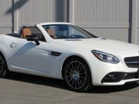 White 2017 Mercedes-Benz SLC SLC 43 AMG RWD 9-Speed