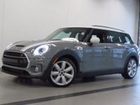 2017 MINI COOPER S CLUBMAN! ONE OWNER! MOONWALK GRAY