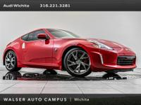 2017 Nissan 370Z Sport Tech, located at Audi Wichita.