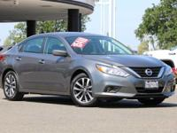 CARFAX One-Owner. Metallic 2017 Nissan Altima 2.5 SV 4D