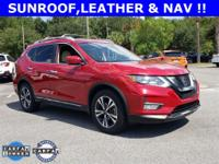 Ruby 2017 Nissan Rogue SL FWD CVT with Xtronic 2.5L I4
