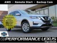 1 owner, Free CARFAX report. AWD, Backup Cam, Remote