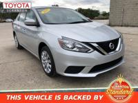 2017 Nissan Sentra SV ***#1 CERTIFIED TOYOTA DEALER IN