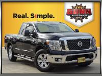 This 2017 Nissan Titan SV 4X4 was designed to work hard
