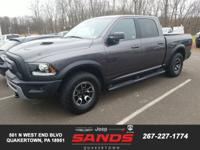 2017 Ram 1500 Rebel Crew Cab 4x4, ORIGINAL MSRP