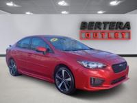 2017 Subaru Impreza Lithium Red Pearl 2.0i Sport Rear