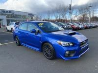 2017 Subaru WRX WR Blue Pearl STi Rear Backup Camera,