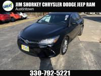 2017 Toyota Camry SE FWDCARFAX One-Owner. Clean CARFAX.